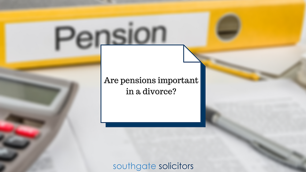 Are pensions important on divorce?