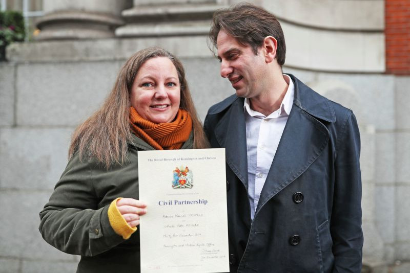 Mixed-sex couples can now enter into civil partnerships