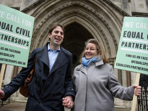 Campaigners welcome civil partnerships for heterosexual couples