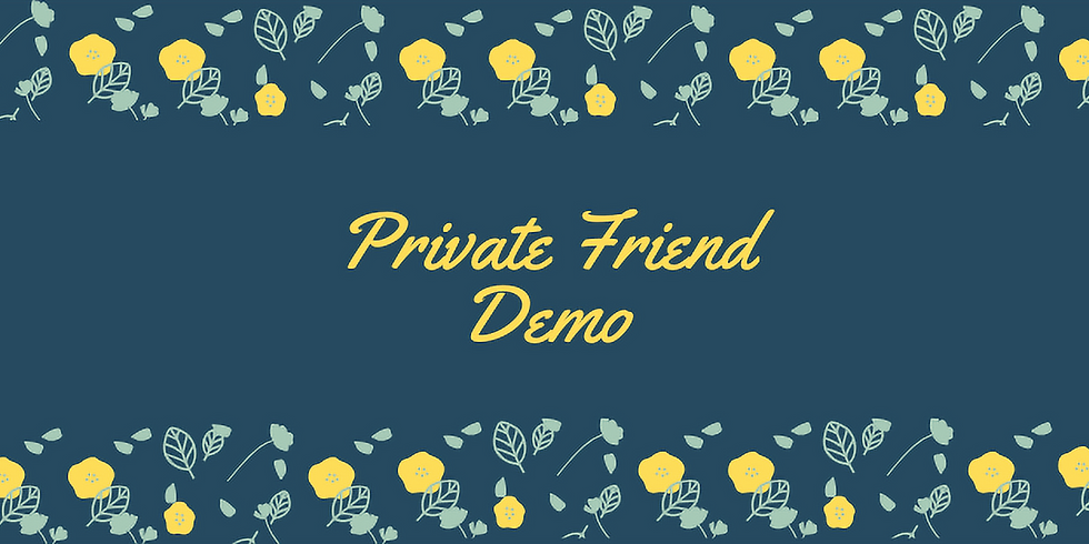 Spring Box Demo | Friend Preview