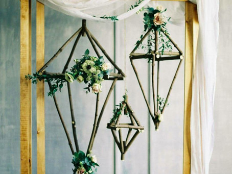 Wedding Trends: Floral Chandeliers part 2