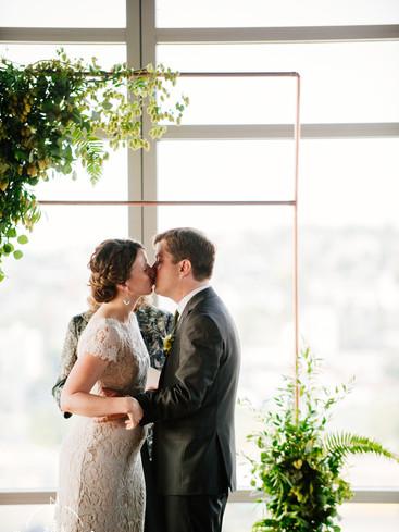 Seattle Bride and Groom | Green Wedding