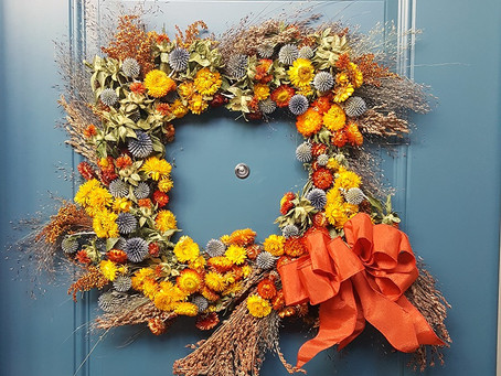 Dried Flower Wreaths | Fall