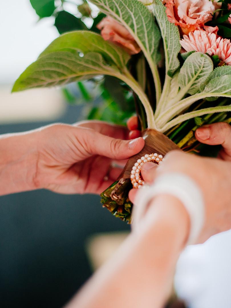 Brooching a Bouquet