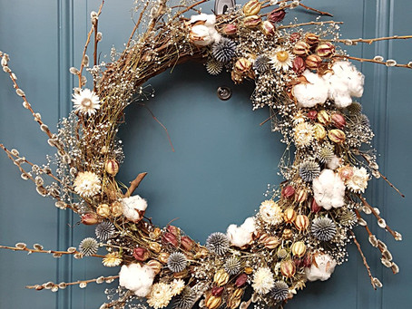 Winter Wreath Wrap