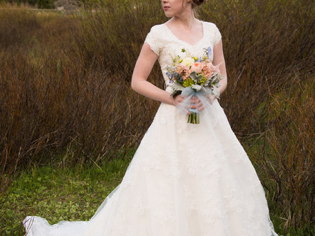 Grace Bridals | Mountain Pastels