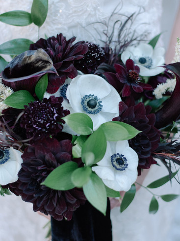 BlackAndWhiteBouquet | Trill Flora