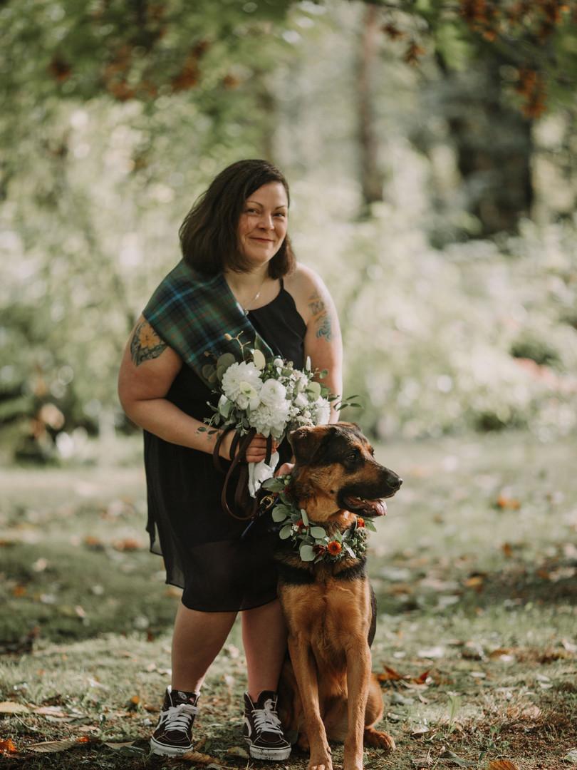 DogWeddingWreath | TrillFlora