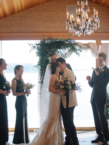 Married Above the Puget Sound | Trill Flora