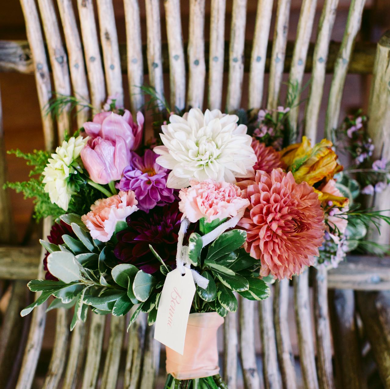 Sherbet-Colored Bouquet