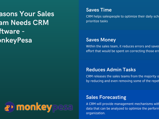 10 Reasons Your Sales Team Needs CRM Software