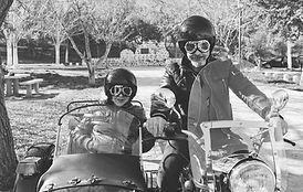 Sysemische Familientherapie: Paar auf Motorrad