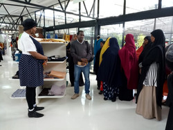 Spinners Web visit with Dadaab Women in