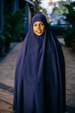 Isha from Dadaab in Nairobi (c) Louis Nd