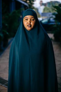 Anab from Dadaab in Nairobi (c) Louis Nd