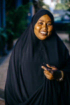 Amina Abd Nour from Dadaab in Nairobi (c