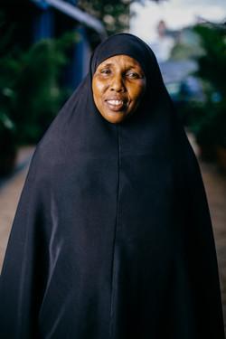 Hawa from Dadaab in Nairobi (c) Louis Nd
