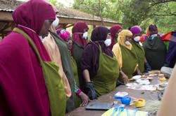 Dye training from Tosheka (c) Botul Khal