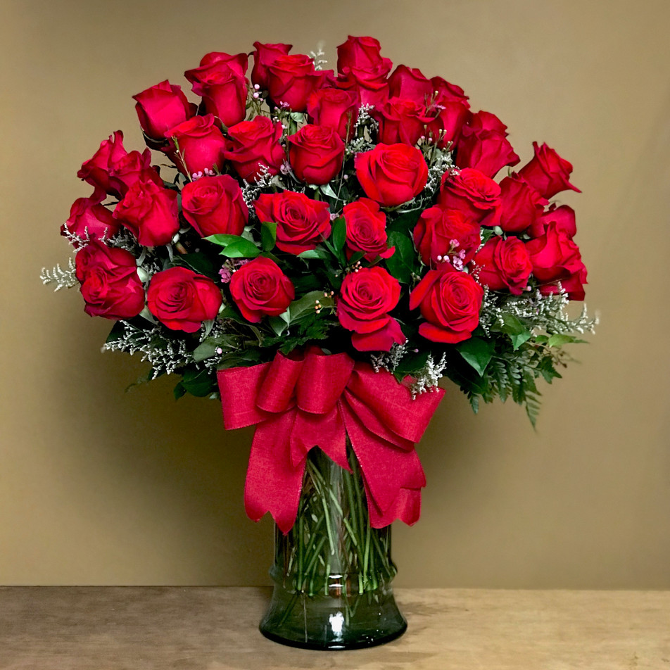 Premium Red Roses - Click to order on our Shopping Site
