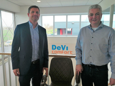 Candor Care become distributors of the Devi 'UP' stairlift