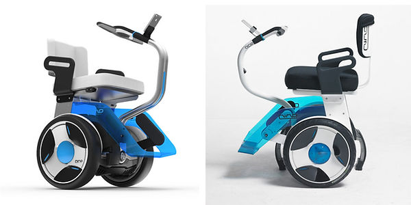 NINO self-balancing wheelchair