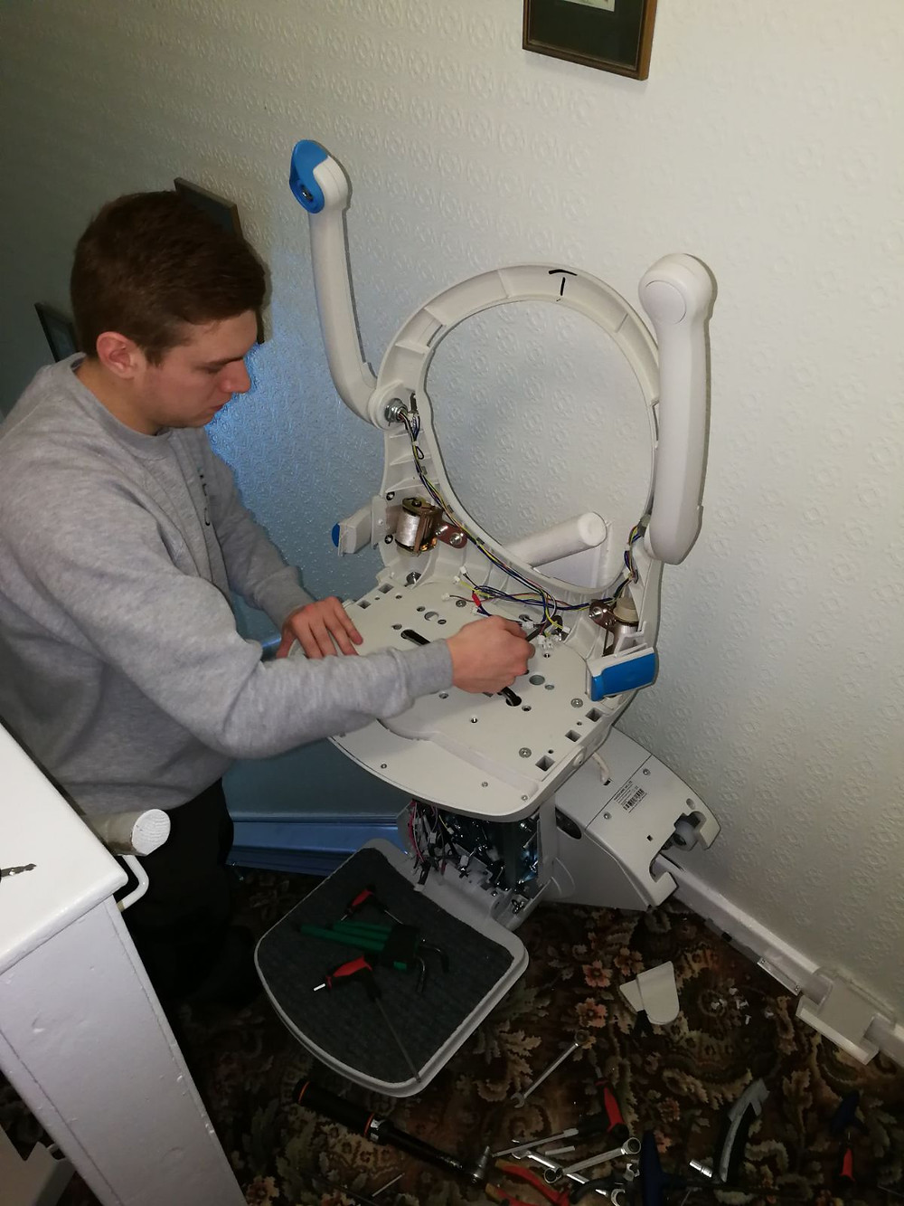 Stairlift repair by Candor Care