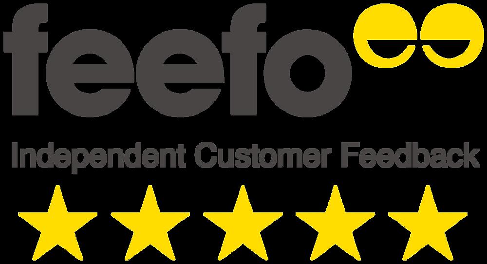 feefo 5 star service