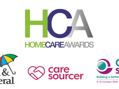 Home Care Awards 2019 - we've been nominated!