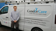 Meet Jordan - our Candor Care apprentice!