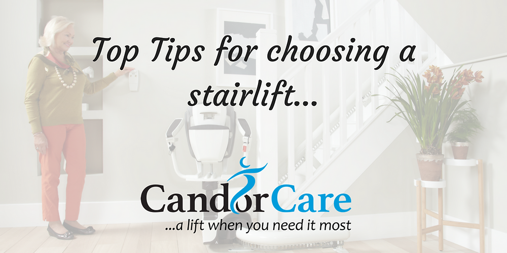 Top Tips when choosing a stairlift