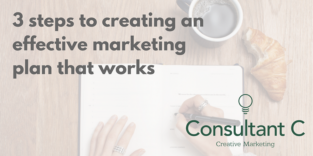 3 steps to creating an effective marketing plan that works