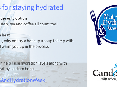 Nutrition and Hydration week 2019
