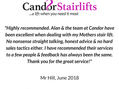 Another 5 star review for Candor Care