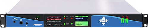 IDC ENC 5010-Audio Encoder AoIP, AES67, L/R,AES/EBU,Livewire, IP & TS Streaming.