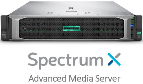 HARMONIC SPECTRUM X. MEDIA SERVER & PLAYOUT. CiaB, HD/SD, 1080p, SDI, MCS.