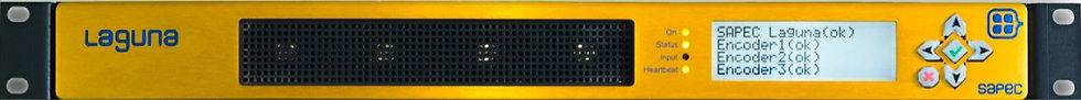 SAPEC Laguna, MultiEncoder TDT, H.264 & MPEG-2, SDI, TSoIP, BTS, ASI, ISDB-Tb.