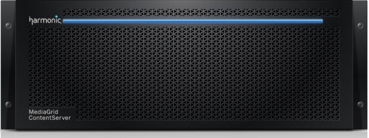HARMONIC MEDIAGRID 4000. Shared Storage, Escalable, 36TB, RAID6. 10GbE