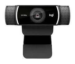 LOGITECH C922. Cámara Web Streaming USB, HD 720p/60fps,78°, estéreo, Trípode.