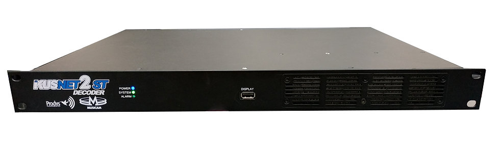 PRODYS  IKUSNET2 ST DECO,  Decodificador Video HEVC/AVC,HD/SD,SDI, 2xUSB