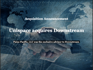Deal Closed: Downstream sold to Unispace