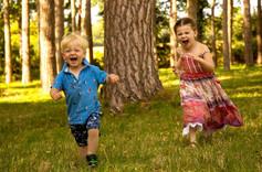 Cousins running