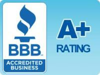 Better Business Bureau A+ Rated & Accredited