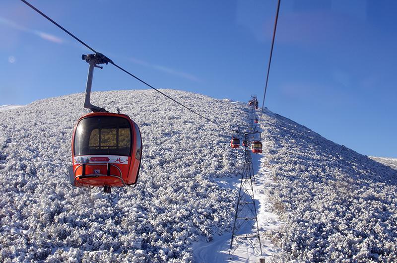 Gondola lift Yastrebets