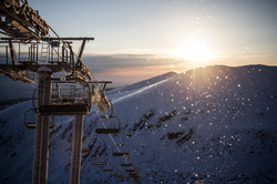 Borovets ski pists view