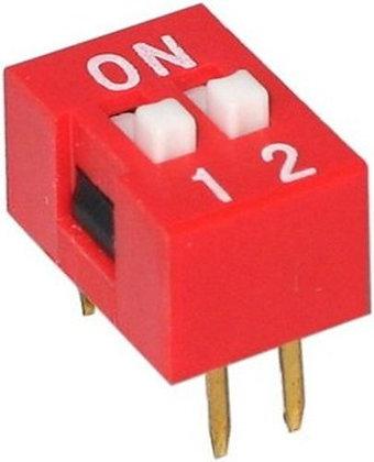Dip Switch 2 vias