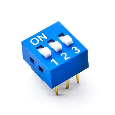 Dip Switch 3 vias