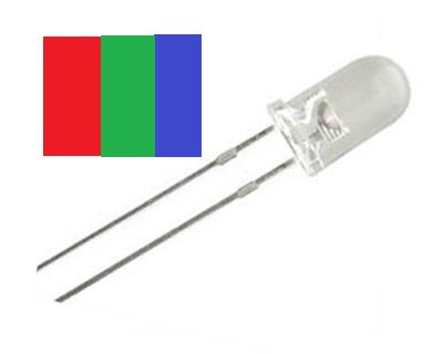 LED RGB 100 pzas 5 mm