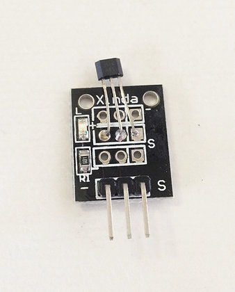 Sensor magnético (Efecto Hall)