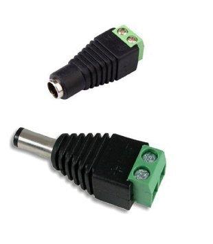 Conector jack con adaptador