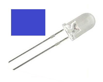 LED AZUL 100 pzas 5 mm